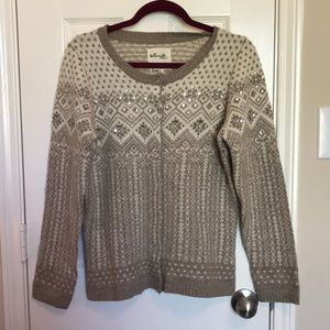 Telluride Lambswool Blend Embellished Sweater